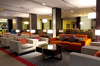 The lounge is WIFI enabled throughout the CIP Terminal